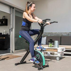 Faltbares X-Bike Heimtrainer Fitnessfahrrad – Bild 3