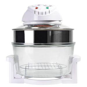 Konvektionsofen Heißluftofen Combi Grill Premium 12 l 1200-1400 W Halogenofen DeLuxe – Bild 2