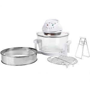 Konvektionsofen Heißluftofen Combi Grill Premium 12 l 1200-1400 W Halogenofen DeLuxe – Bild 3