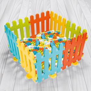 Spielzaun Kinderzaun mit 8 Elementen – Bild 2