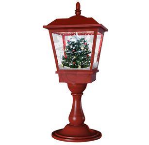 Schneiende LED-Tischlaterne Baum 65 cm Weihnachtsdekoration
