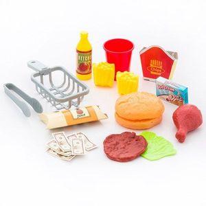 Spielzeug Imbissstand Fast Food Restaurant mit Zubehör – Bild 3