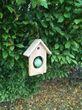 Meisenfutterhaus Vogelfutterhaus aus Lärchenholz zum Aufhängen - Vogelhaus 001