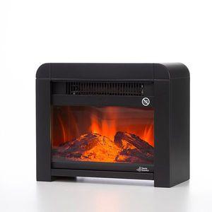 Elektrische Micathermische Heizung Elektrokamin Premium 1200 W in 2 Farben – Bild 2