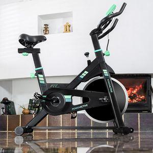 Heimtrainer Fitnessfahrrad Indoorcycle Hometrainer Racer – Bild 3
