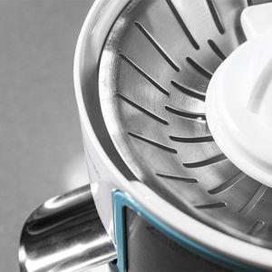 Elektrische Zitruspresse DeLuxe mit Hebelarm 160W White/Silver Premium – Bild 2