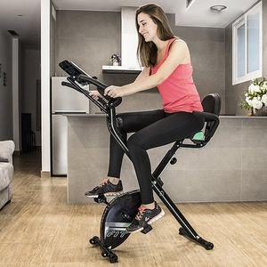 X-Bike Pro Klappbarer Heimtrainer Comfort Plus m. LCD Monitor – Bild 5