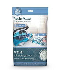 Packmate Vacuum Travel Bag 8-teiliges Aufbewahrungsbeutel-Set – Bild 1