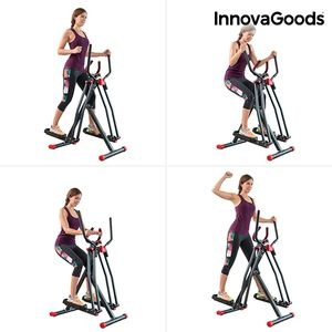 Air Walker Premium Heimtrainer Crosstrainer Nordic Walking – Bild 3