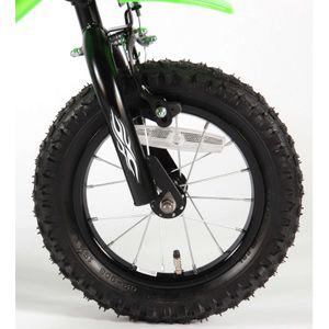 Kinderfahrrad Volare Enduro Motobike 12 Zoll grün – Bild 5