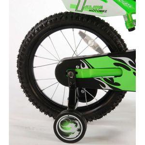 Kinderfahrrad Volare Enduro Motobike 16 Zoll grün – Bild 3