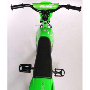 Kinderfahrrad Volare Enduro Motobike 16 Zoll grün – Bild 6