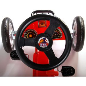 Go Kart - Yipeeh Racing Car Red Racer – Bild 5