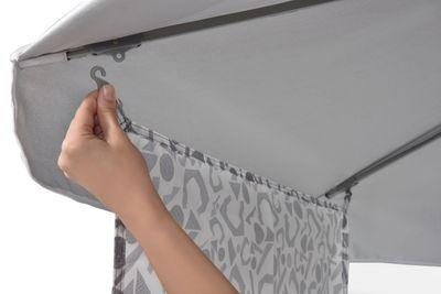 Strandschirm Sonnenschirm KAU KIRI PLUS LIMITED mit Seitenteil – Bild 3