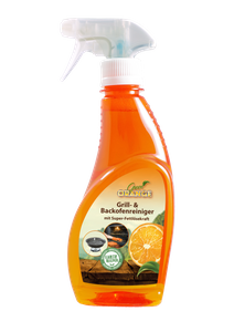 Clever Clean Green Orange Ultra Grill- und Backofenreiniger mit Super-Fettlösekraft 250 ml