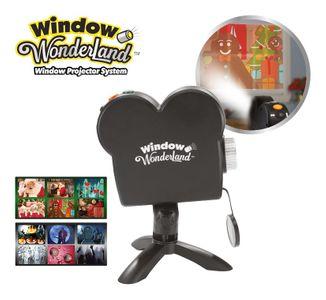 Star Shower Fensterprojektor Window Wonderland