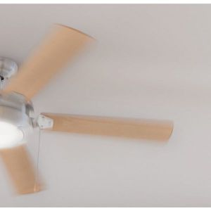 Deckenventilator mit Lampe Forcesilence Aero Plus Wood Edition – Bild 2