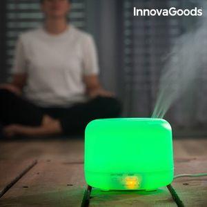 Mehrfarbiger LED Luftbefeuchter mit Aromatherapie und Farbwechsel Aroma Diffusor – Bild 3