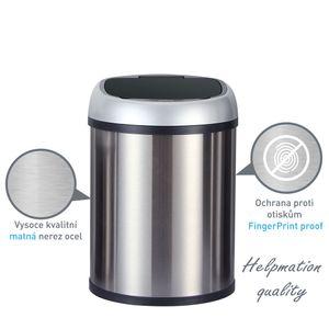 Sensor-Abfalleimer (8L) GYT 8-2 Mini Mülleimer mit Infrarotsensor oval von Helpmation – Bild 5