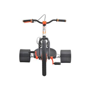 Drift Trike TRIAD Countermeasure 2 silber/orange Drifter Trike – Bild 4