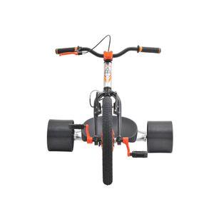 Drifttrike TRIAD Countermeasure 2 silber/orange Drifter Trike – Bild 4