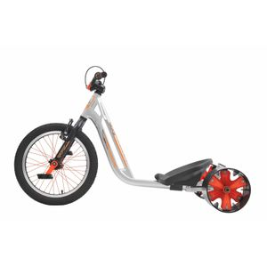 Drift Trike TRIAD Countermeasure 2 silber/orange Drifter Trike – Bild 3