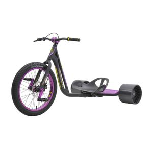 Drift Trike TRIAD Syndicate 3 Black/Purple Drifter Trike Ultra Pro