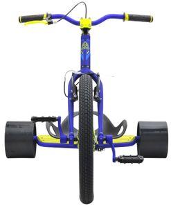 Drift Trike TRIAD Underworld 3 blau/neongelb Drifter Trike Ultra Pro – Bild 3