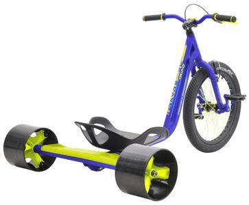 Drift Trike TRIAD Underworld 3 blau/neongelb Drifter Trike – Bild 2