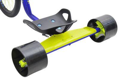 Drift Trike TRIAD Underworld 3 blau/neongelb Drifter Trike Ultra Pro – Bild 4