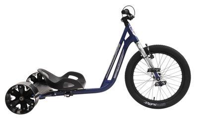 Drift Trike TRIAD Underworld 3 blau/chrom Drifter Trike – Bild 4