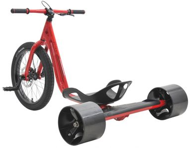 Drift Trike TRIAD Notorious 3 red/red Drifter Trike – Bild 2