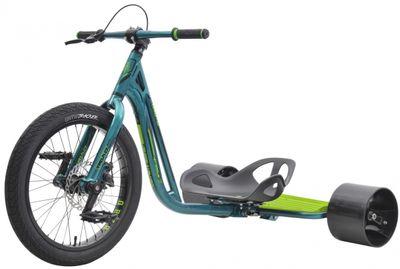 Drift Trike TRIAD Notorious 3 green Drifter Trike Ultra Pro