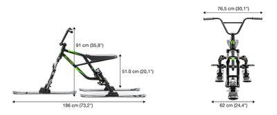 Hillstrike Snowtrike REV-17 Panther Rose Snowscooter – Bild 3