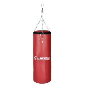 Kinder Boxsack inSPORTline 15kg befüllt rot inkl. Befestigungsmaterial – Bild 1