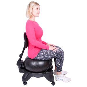 Balance Ball Ballstuhl inSPORTline G-Chair – Bild 1
