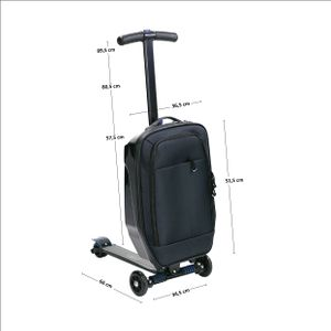 Luggage Scooter HTF02 Nils Extreme Trolley – Bild 10