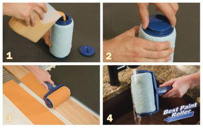 Best Paint Roller Profi Farbroller Streichsystem 13-tlg. Set – Bild 2