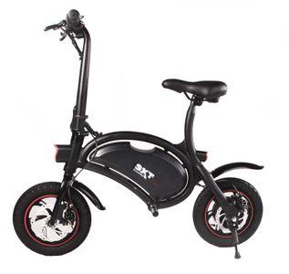 SXT Bike Elektrobike Elektroroller schwarz E-Scooter – Bild 1