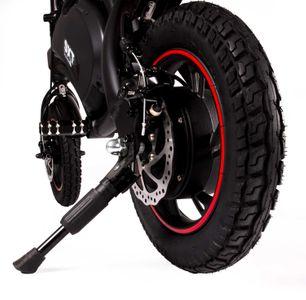 SXT Bike Elektrobike Elektroroller schwarz E-Scooter – Bild 4