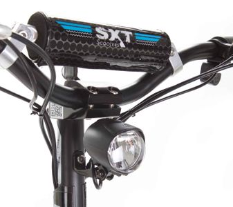 SXT 500 EEC Elektroroller Facelift Li-Ion Lithiumakku schwarz m. Straßenzulassung – Bild 9