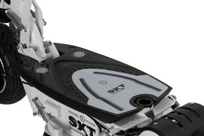 SXT 1000 XL EEC Elektroroller Facelift Bleiakku weiß m. Straßenzulassung – Bild 7