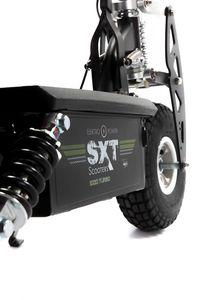 SXT 1000 Turbo Elektro Scooter Elektroroller m. Bleiakku schwarz – Bild 8