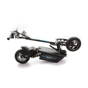 SXT 1600 XL Elektro Scooter Elektroroller m. LiFePo4 Lithiumakku schwarz – Bild 2