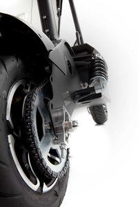SXT 1600 XL Elektro Scooter Elektroroller m. LiFePo4 Lithiumakku schwarz – Bild 6