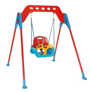 Kinderschaukel Super Swing mit stabilem Metallrahmen – Bild 1