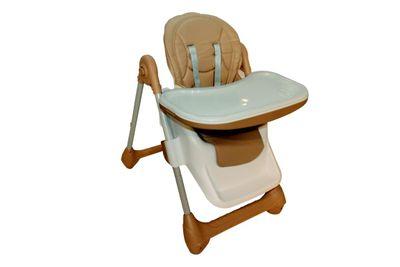 Babyhochstuhl Deluxe High Chair Kinderhochstuhl – Bild 4