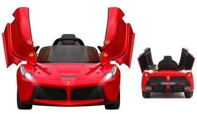 Elektrofahrzeug Ferrari LaFerrari 12V für Kinder – Bild 4