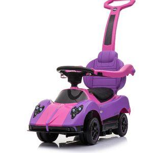 Pagani Zonda Cinque Roadster Pink 4in1 Rutscher für Kinder