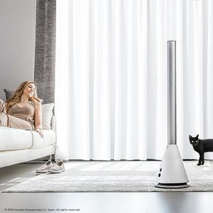 Standventilator Silence Skyline Bladeless White Design Edition Turmventilator – Bild 2